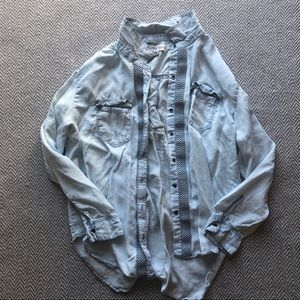Knox Rose Button Down